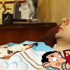 Mr Bean – Getting up late for the dentist