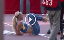 Ukraynalı Güzel Atlet Isınırken Sosyal Medyada Fenomen Oldu!