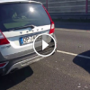Volvo'ya Arkadan Çarpan Aracın Haline Bakın