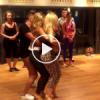 Hipnoz Etkisi Yaratan Dans Kapışması LEOPAR Taytlıya DİKKAT