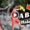 Halebi'yi Yaşayarak Oynuyor İzleyenleri Hayran Bıraktı