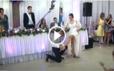 Gelin ve Damattan MUHTEŞEM ilk Dans Gösterisi