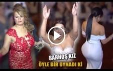 SARHOŞ KIZ ÖYLE BİR OYNADI Kİ HERKES DONDU KALDI..!!